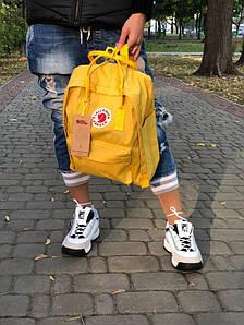 Городской Рюкзак Fjallraven Kanken 16л Classic Желтый