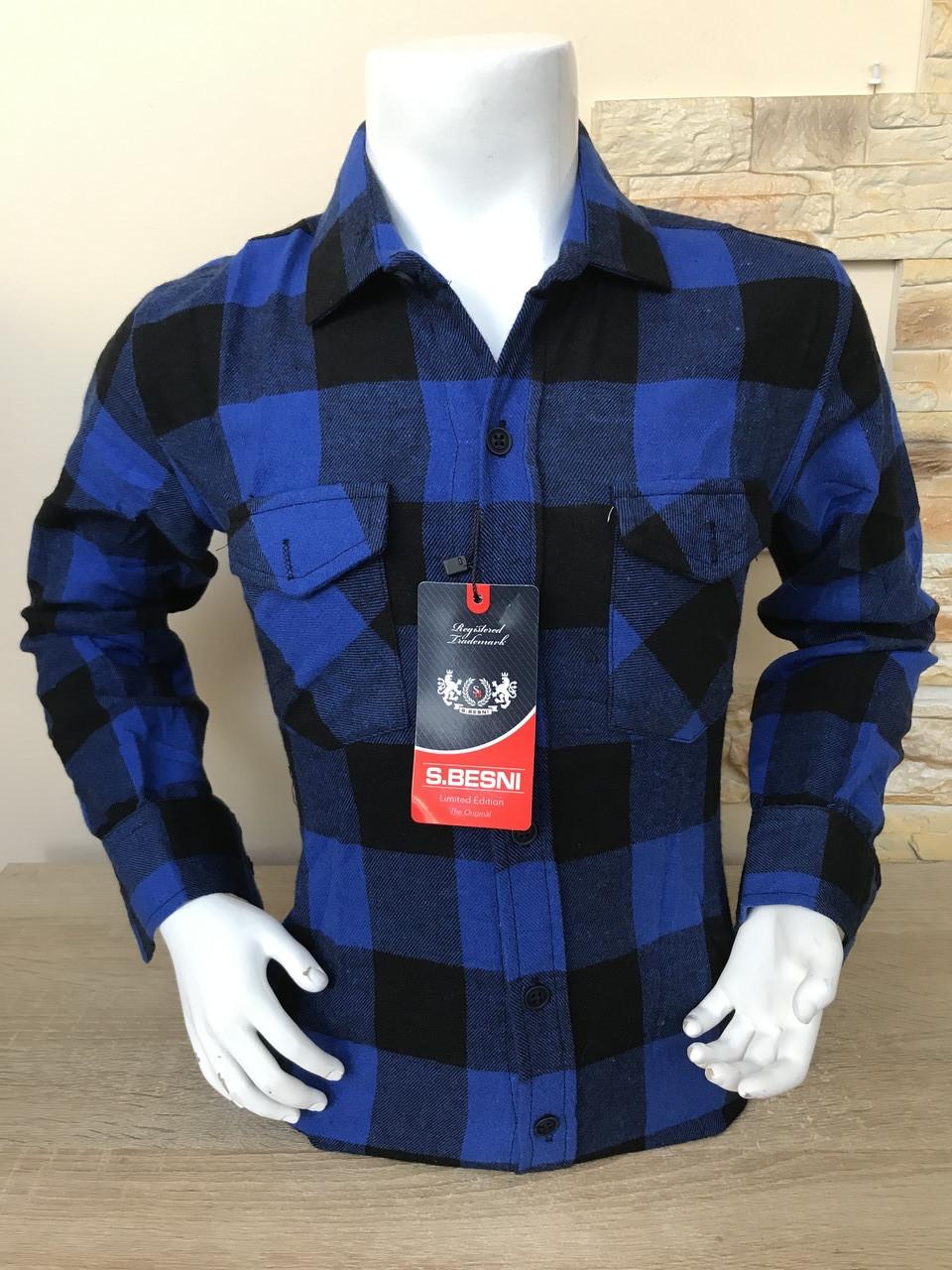 Детская кашемировая рубашка S.Besni 5-8