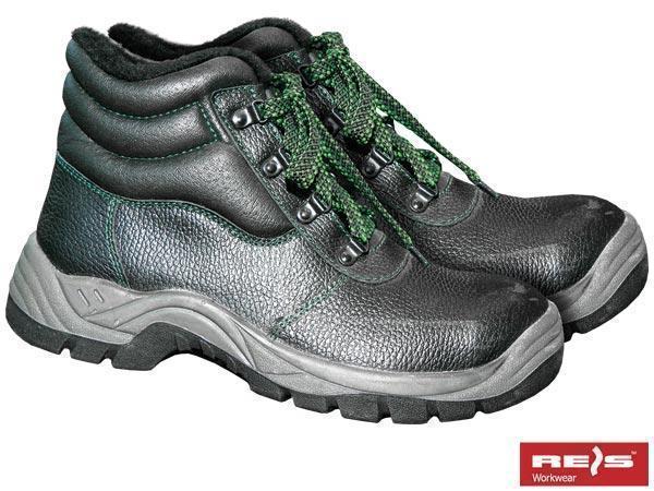 Купить Ботинки рабочие зимние REIS BRGRENLAND BCZ с металлическим подноском р. 48 черные