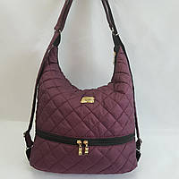 Женская сумка-рюкзак стеганная, фото 1