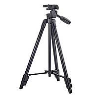 Профессиональный штатив тренога для камеры Yunteng VCT-520, Black