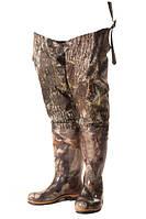 Сапоги-заброды рыбацкие камуфляж