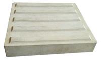 """Плитка тактильная бетонная """"Полоса"""" 330х330х60"""
