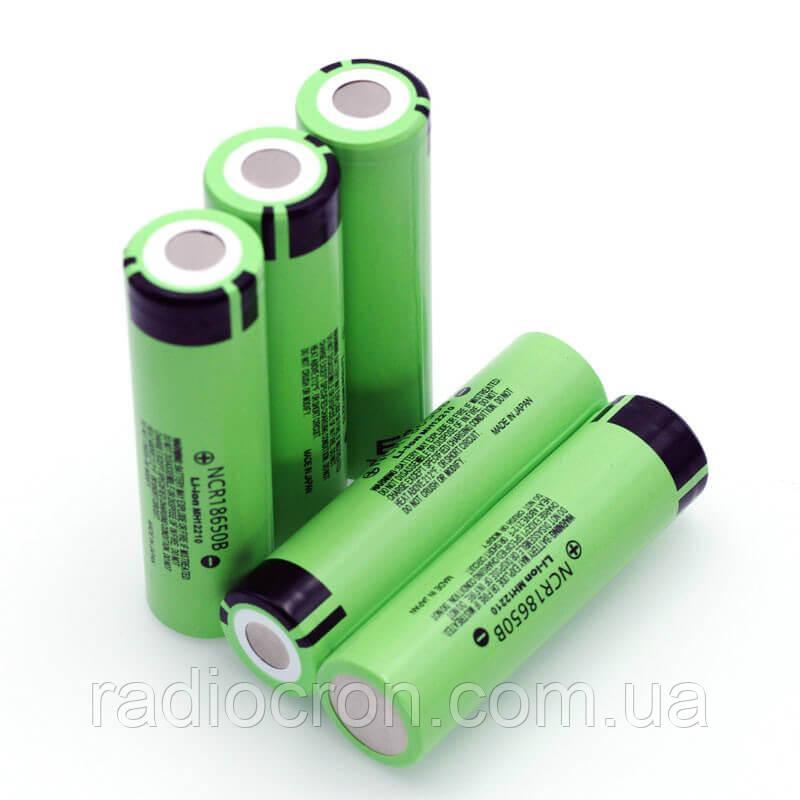 Li-ion акумулятор Panasonic NCR18650B 3400mAh