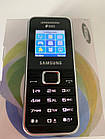 Мобильный телефон Samsung  E1182 Dual Silver 1000 мАч ОРИГИНАЛ, фото 7