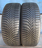 Шины б/у 205/55 R16 Hankook Winter i*Cept RS2, ЗИМА, 6 мм, 2017 г., пара, фото 2