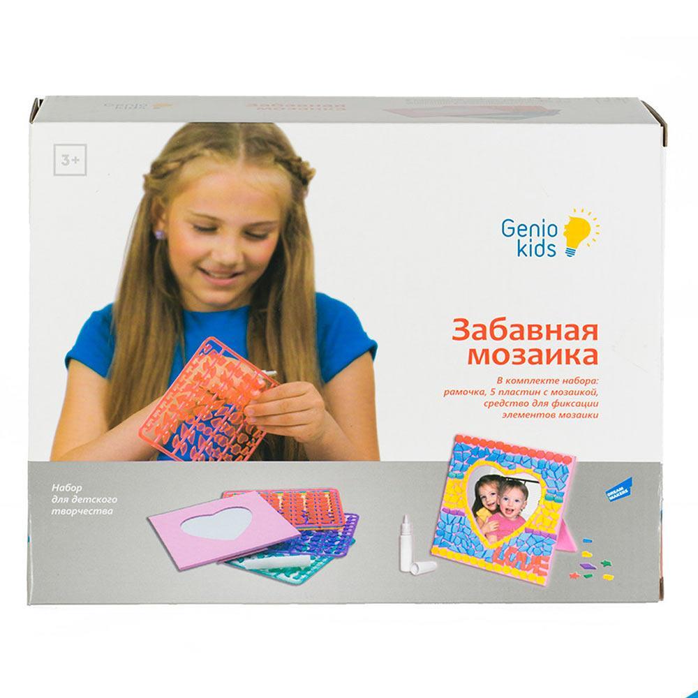 Набор для детского творчества Забавная мозаика Genio Kids 8826