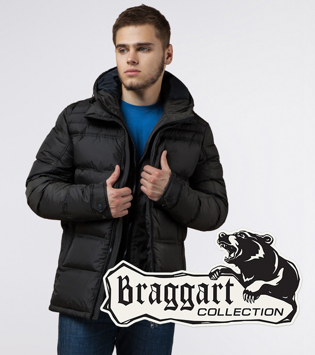 Braggart Aggressive 26055 | Зимняя куртка темно-оливковая