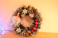 Новогодние венки Новорічні вінки на двері