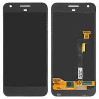 Дисплей HTC S1 Google Pixel, черный, с сенсорным экраном