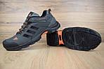 Чоловічі кросівки Adidas Climaproof (сіро-помаранчеві), фото 6