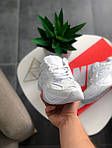 Мужские и женские кроссовки Nike M2K Tekno White, фото 2