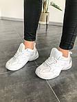 Мужские и женские кроссовки Nike M2K Tekno White, фото 6