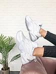 Мужские и женские кроссовки Nike M2K Tekno White, фото 8