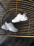 Мужские и женские кроссовки Nike M2K Tekno White, фото 9