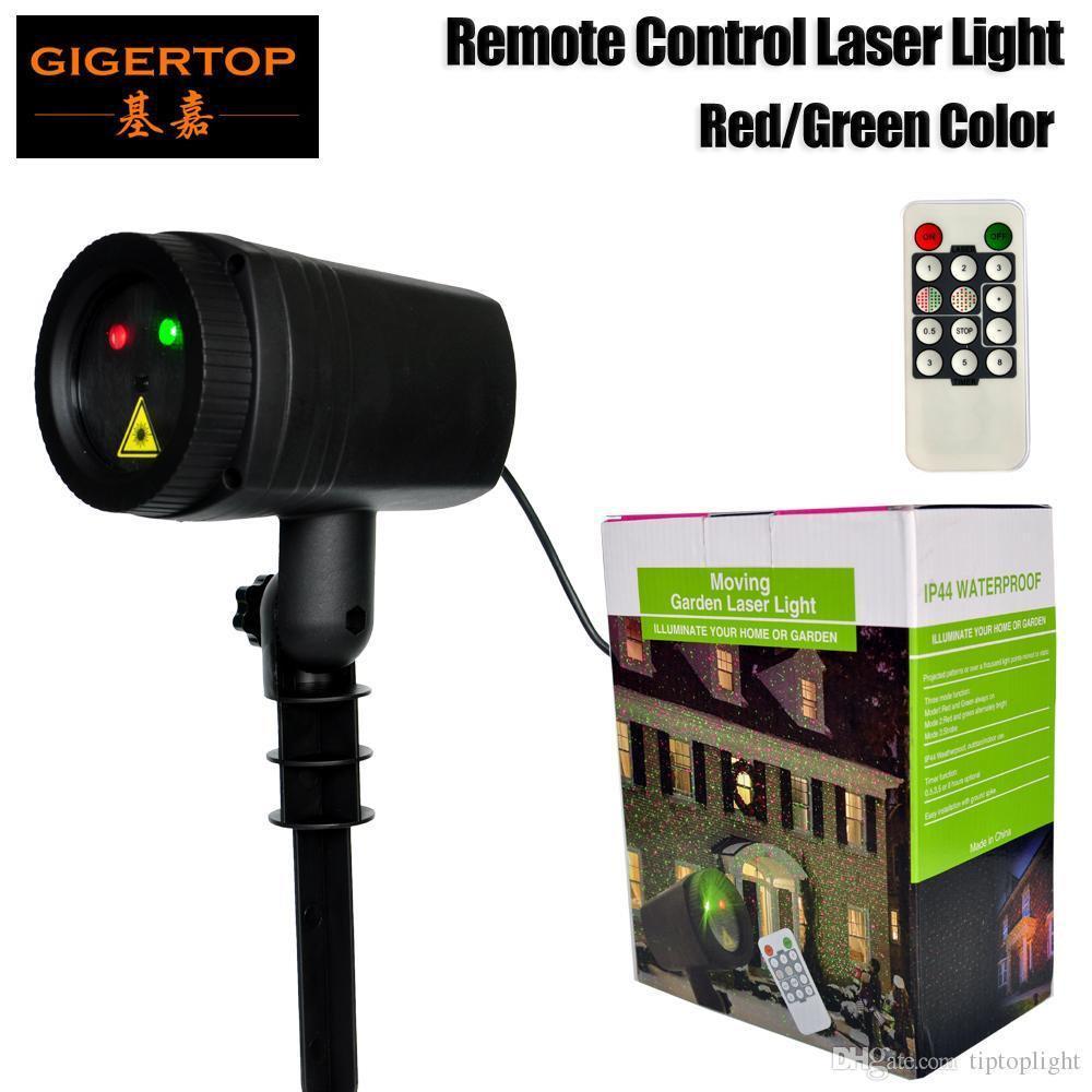 Лазерный проектор новогодний Moving Garden Laser Light для улицы Синий + красный