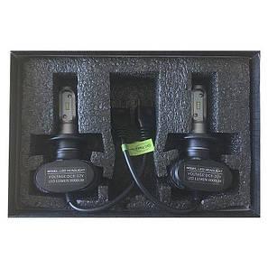 LED светодиодные лампы для авто S1 H7, комплект автомобильных светодиодных ламп (без радиатора), фото 2