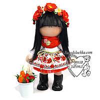 Кукла Украиночка, украинка, ручная работа, средняя