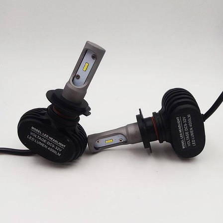 Светодиодные LED лампы для фар автомобиля S1 H11, фото 2