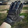 """🔥 Перчатки полнопалые """"Mechanix. M-Pact"""" (черные). тактические перчатки, боевые, штурмовые, фото 2"""