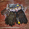 """🔥 Перчатки полнопалые """"Mechanix. M-Pact"""" (черные). тактические перчатки, боевые, штурмовые, фото 7"""