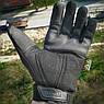 """🔥 Перчатки полнопалые """"Mechanix. M-Pact"""" (черные). тактические перчатки, боевые, штурмовые, фото 3"""