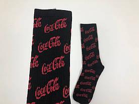 Носки - Coca-Cola - высокие - (черный)