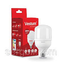 Світлодіодна високопотужна лампа Vestum  T100 30W 6500K 220V E27 1-VS-1602