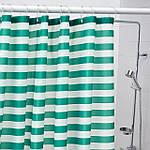 IKEA VADSJON Душевая занавеска, темно-зеленая, 180x200 см (104.394.82), фото 3