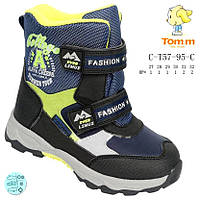 Детские термо-ботинки Tom.m на меху р(27-30)