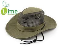 Шляпа ковбойская с сеткой Tagrider T-920 Green
