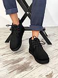 Мужские  зимние ботинки UGG David Beckham Boots (Black), мужские зимние Угги (Реплика ААА), фото 3