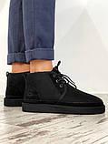 Мужские  зимние ботинки UGG David Beckham Boots (Black), мужские зимние Угги (Реплика ААА), фото 4