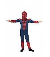 Детский карнавальный маскарадный костюм Человека - паука с мышцами рост: от 94 до 130 см, фото 1
