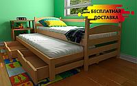 Кровать двухуровневая Бонни 80х190 см. Луна Мебель