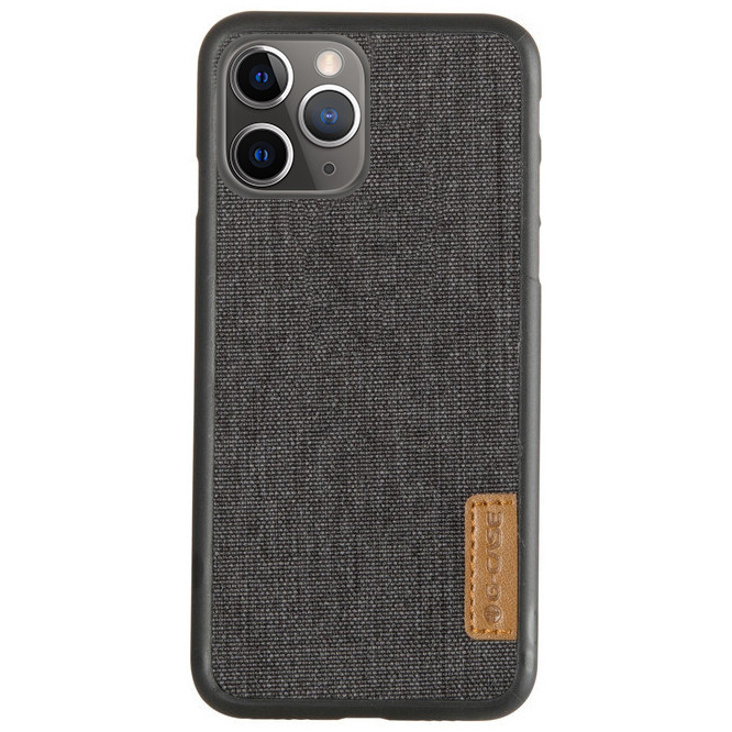 "Накладка G-Case Textiles Dark series для Apple iPhone 11 Pro Max (6.5""), фото 1"