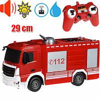 Пожарная машина на радиоуправлении с распылителем воды, E572-003, Same Toy