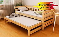 Кровать двухуровневая Тедди Дуо 80х160 см. ЛунаМебель, фото 1