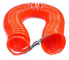 Спиральный шланг 10м 8ммx12мм ПЭ