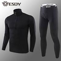 Термобелье Мужское Флисовое ESDY Pro Black S