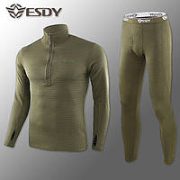 Термобелье Мужское Флисовое ESDY Pro Olive S