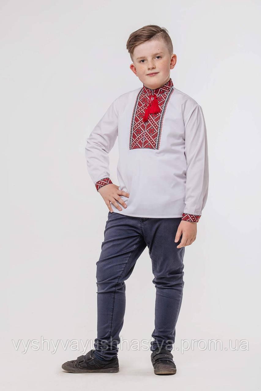 Вышитая рубашка для мальчика в украинском стиле «Говерко».