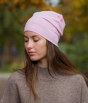 Шапка чулок розовая, фото 2