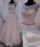 Свадебное платье Л-14 (айвори)