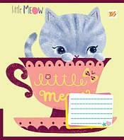 Тетрадь в линию 12 л YES А5 Little Meow Tenderness микс 4 обложки (761378)