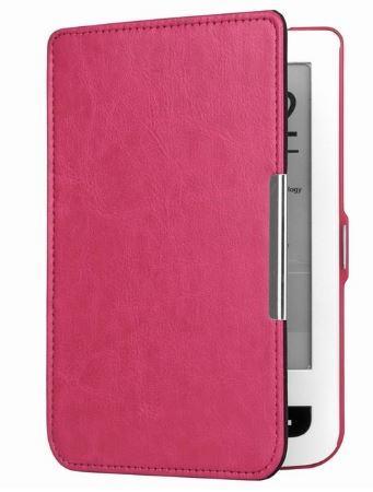 Чехол обложка PocketBook 614 615 624 625 626 640 Lux 2 Lux3 Touch розовый