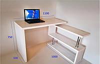 Стол компьютерный рабочий СКТ-1 (дуб атланта)