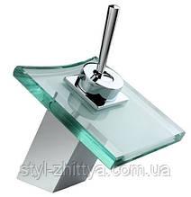 Змішувач скляний для раковини