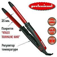 Выпрямитель для волос + плойка (25 мм) VL-4026