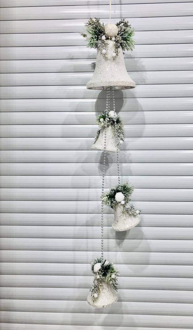 Новогодний декор Колокольчики подвесные, 120 с